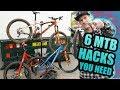 6 MOUNTAIN BIKE HACKS YOU NEED TO KNOW