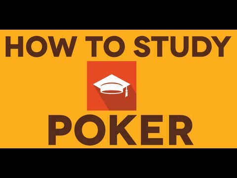 Poker, How to study & improve - 1 minute preview