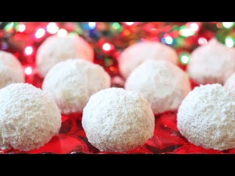 Easy Christmas Snowballs - Pecan Balls - So Easy, ANYONE Can Make These