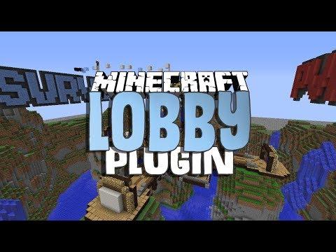 Lobby | Minecraft Plugin Bukkit | PON TU LOBBY EN TU SERVER