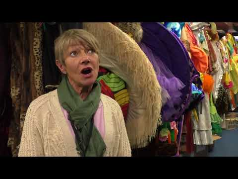 We find out what goes into the panto costumes at the York Theatre Royal