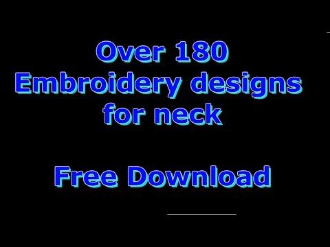 رشمات طرز الإلكتروني للتحميل Free embroidery designs for download