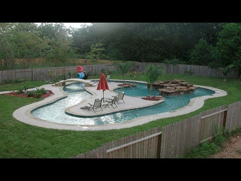 100+ Outdoor Swimming Pool Design Ideas - Beautiful Swimming Pool Designs for Home Outdoor