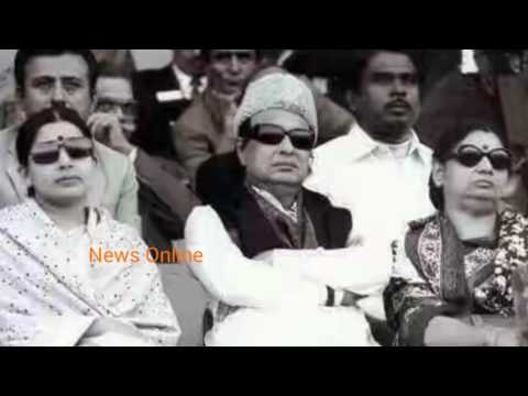 MGR and CM Jayalalitha unseen video