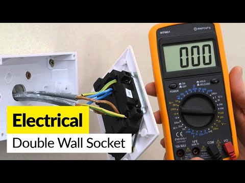 How to Replace a Double Wall Socket