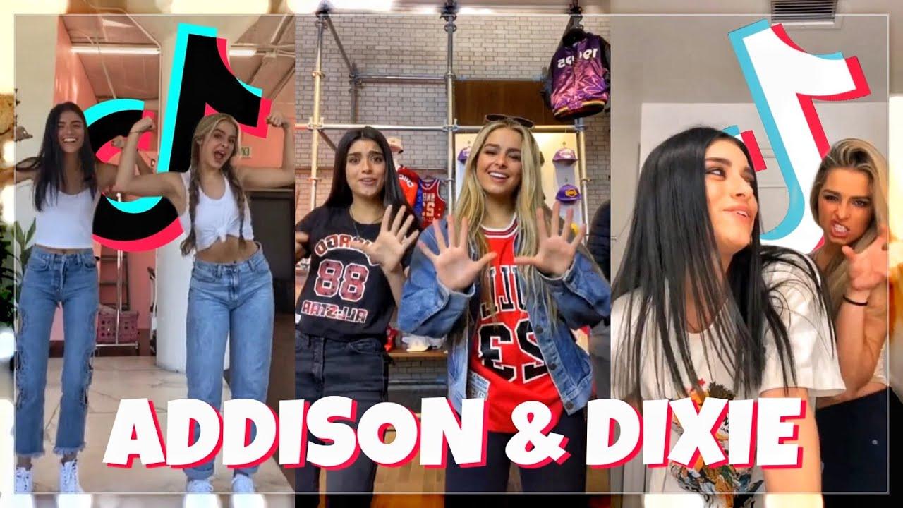 Addison Rae and Dixie D'Amelio TikTok Compilation