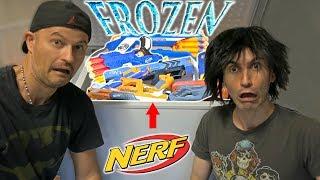FROZEN Nerf Guns!