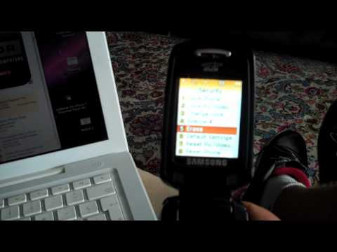 How to reset a Samsung cell phone