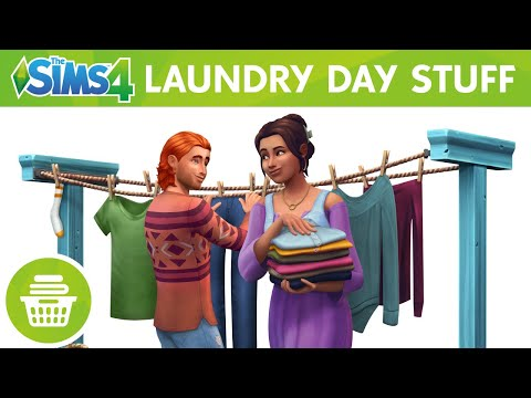 The Sims 4 Laundry Day Stuff: Official Trailer