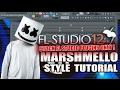 How To Make Music Like Marshmello Using Only Stock Plugins [FL Studio 12] + FLP