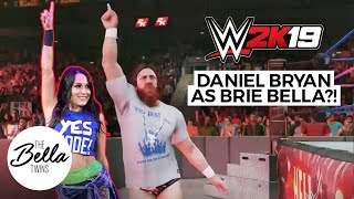 Daniel Bryan transforms into BRIE MODE! (FUNNY!) | WWE 2K19: Mashup Entrance