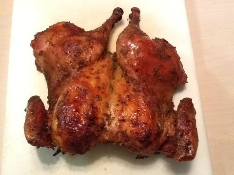 Tasty Spatchcock Chicken  | The Best Way To Cook Whole Chicken Fast