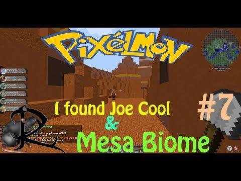 Pixelmon Gameplay - Gotta catch them All & Mesa Biome