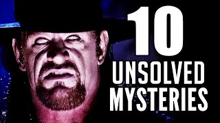 10 UNSOLVED Undertaker Mysteries