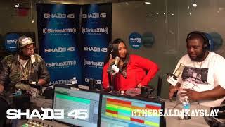Dj Kayslay Interviews AR AB at Shade45 SiriusXM