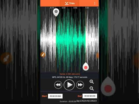 How to make Ringtone by Cutting Favourite Mp3 Songs