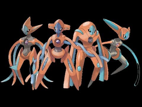 How to get all SHINY lvl 55 Deoxys forms FREE