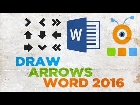 How to Draw Arrows in Word 2016