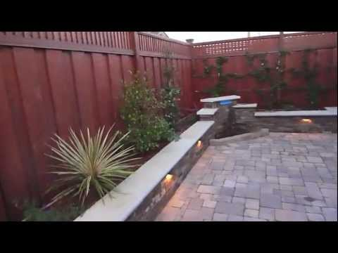 Sexy Paver Patio Backyard Makeover by Hill Construction Co, Belmont, CA
