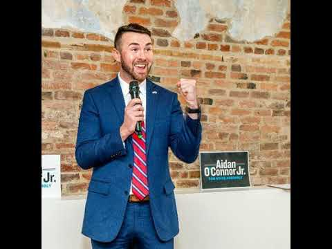 Assembly Candidate Aidan O'Connor on New York State's Gun Laws