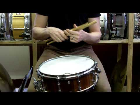 Basic Stick Technique Pt. 2 - First Strokes (Traditional Grip)