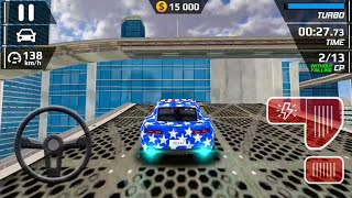 Smash Car Hit - Impossible Stunt New Vehicule Android Gameplay