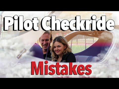 Top 10 Pilot Checkride Mistakes