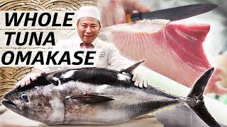 Tuna Master Kuniaki Yoshizawa Serves an Entire Omakase out of Bluefin Tuna — Omakase