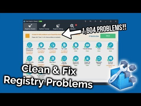 Fix Critical Registry Errors in Windows 10, 8 or 7!