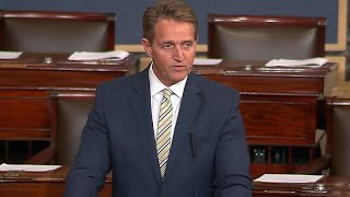 Flake slams Trump
