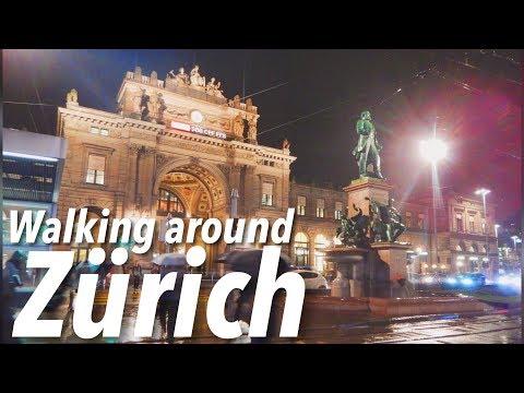 Walking around Zürich!