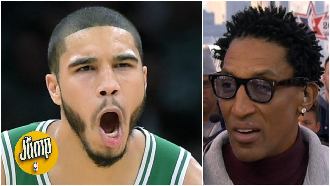 Jayson Tatum is one year away from truly dominating - Scottie Pippen   The Jump