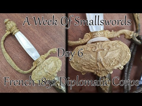The Prettiest Smallsword - French m1852 Diplomatic Corps