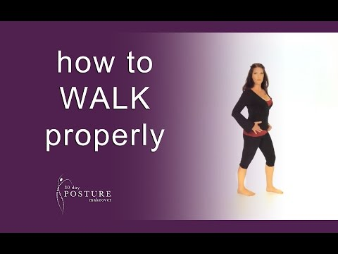 Posture Coach Explains How to WALK Properly