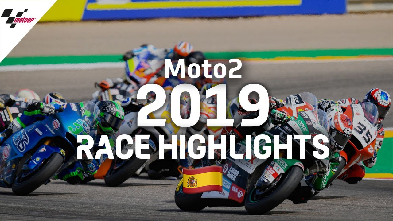 2019 #AragonGP | Moto2 Race Highlights