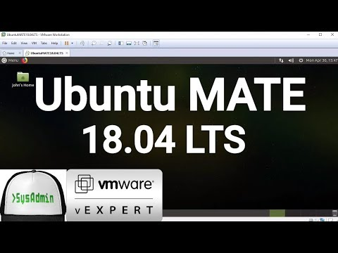How to Install Ubuntu MATE 18.04 LTS + VMware Tools + Review on VMware Workstation [2018]