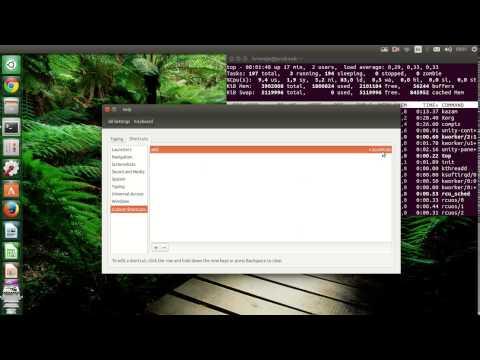 Kill an app with the keyboard shortcut and xkill in Ubuntu 14.04