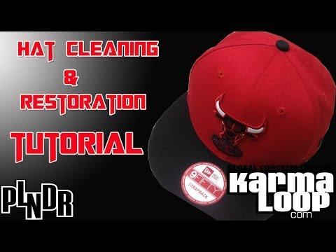 Hat Cleaning/Restoration Tutorial