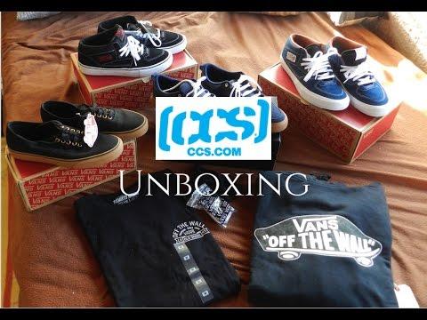 f7851c1801d8 CCS Clothing Unboxing - Vans Authentic Half cab pro