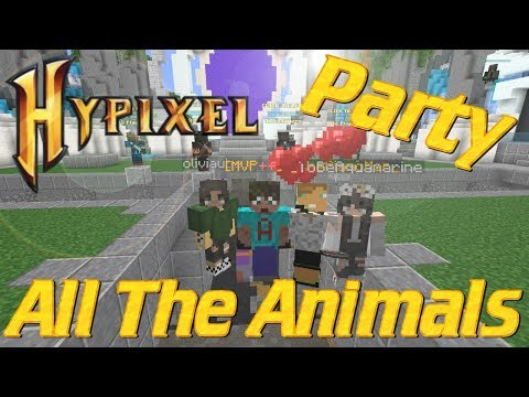 Minecraft: Hypixel Build Battle Lets Play   The Rhinos and the Bees   Minecraft PvP Lets Play