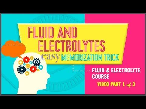 New Fluid & Electrolytes easy memorization trick part 1 of 3 NCLEX RN or LPN simplenursing