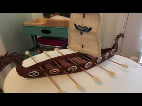 DIY: Viking Longship