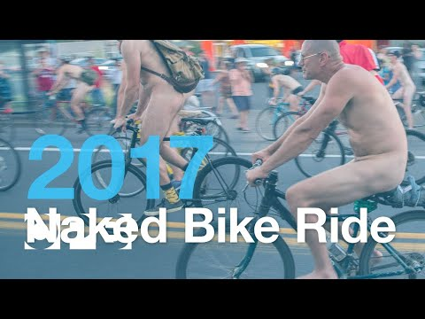 Ride Along with Portland's Naked Bike Ride