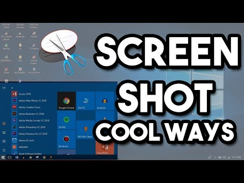 How to use snipping tool in windows 10,8,7 in different ways to take screenshot