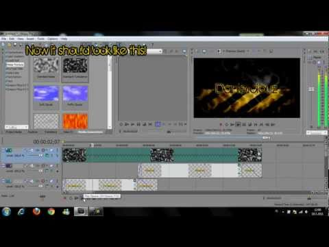 How To Make A Sweet Intro In Sony Vegas Pro 10