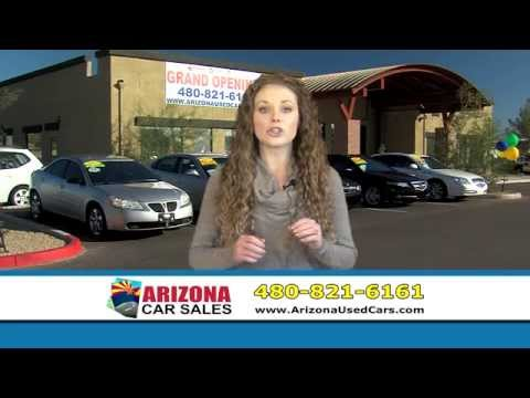 Buy your next vehicle with confidence at Arizona Car Sales!