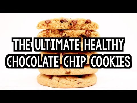 The Ultimate Healthy Soft & Chewy Chocolate Chip Cookies | Amy's Healthy Baking