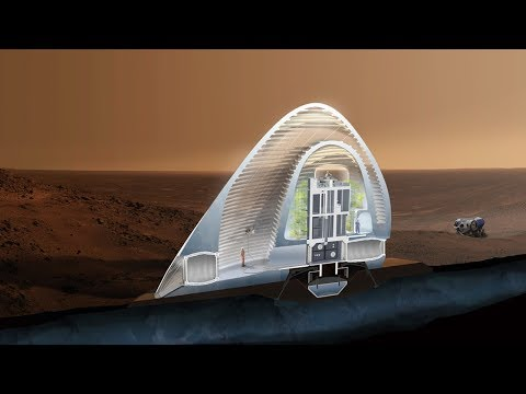 Building on Mars: The Construction Industry Space Race | The B1M
