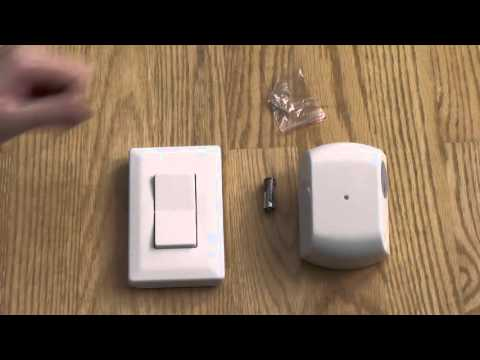 GE 18279 Wireless Wall Switch Remote Unboxing + Demo