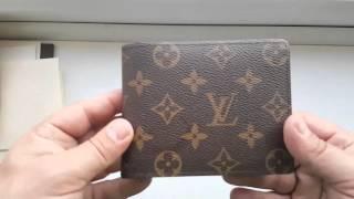77a4bd6382a Louis Vuitton Monogram Wallet Export Clothes Review